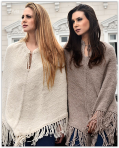 "Photo of Alpaca Poncho ""Olivia"""