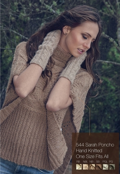 "Photo of Alpaca Poncho ""Sara"""