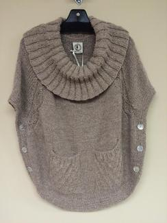 "Photo of Alpaca Poncho ""Alegria"""