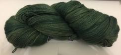 Hand Spun/Dyed Cria Yarn (Hunter Green)