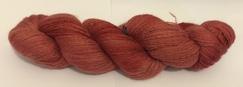 Hand Spun/Dyed Cria Yarn (Red)