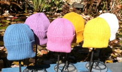 2x2 Ribbed Knit Watch Cap