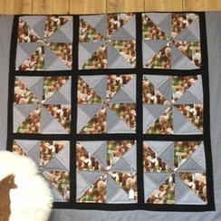 Alpaca Design Windmill Quilt
