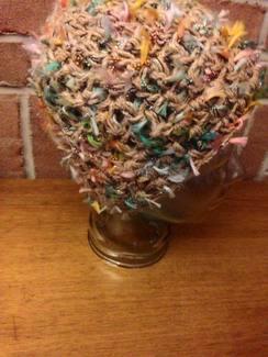 """SOLD- OOAK """"Elfin Magic"""" Crochet Hat"""