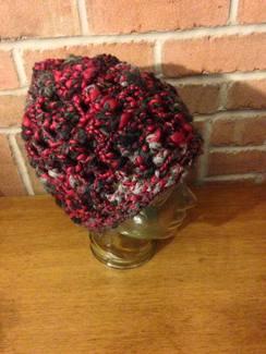 OOAK HandSpun Crocheted Adult Hat