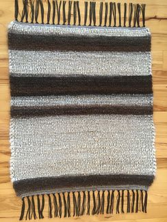 Photo of Handwoven Suri Alpaca Rug