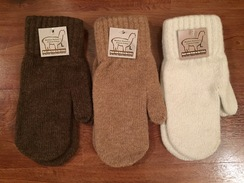 Photo of Alpaca Mittens - Large