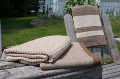 Photo of Maine Made Alpaca Throw