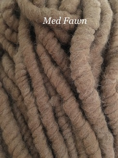 Yarn: Rug Yarn ~ Medium Fawn