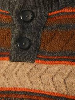 Photo of Bonfire Blaze Alpaca Sweater (2XL)