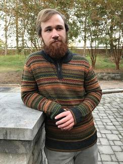 Men's Evergreen Alpaca Sweater