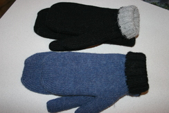 Photo of Double Knit Alpaca Mittens