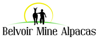 Belvoir Mine Alpacas - Logo