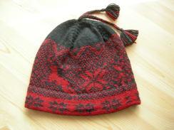 Photo of Knit snowflake cap