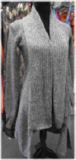Alpaca Long Sweater Wrap