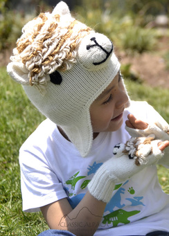 Children's Alpaca Hat