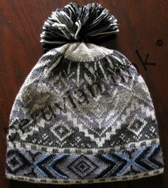 Photo of Arctic Blue Patterned Hat
