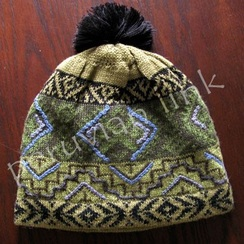 Photo of Green&Black Patterned Hat