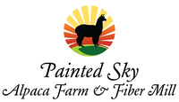 Painted Sky Alpaca Farm & Fiber Mill - Logo