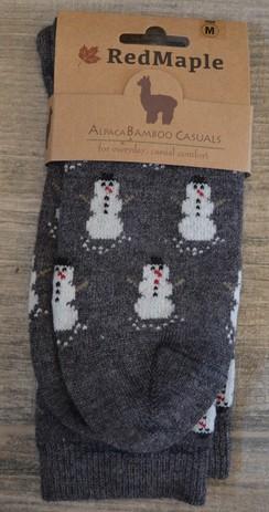 Snowman Sock