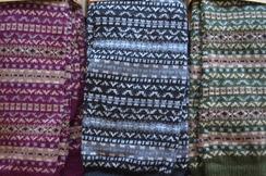 Fair Isle - Alpaca Knee Socks
