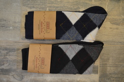 Argyle Alpaca Dress Socks