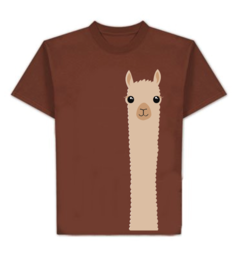 "Photo of Alpaca ""Watching You"" T-Shirt"