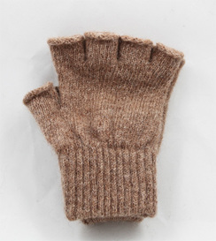 Manufactored Fingerless Alpaca Gloves