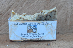 Spiced Orange Scent Handcrafted Soap