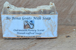 Oatmeal and Honey Scent Handcrafted Soap