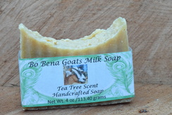 Tea Tree Scent Handcrafted Soap