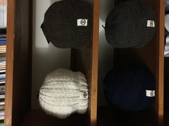 Handknit Alpaca Hats