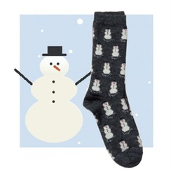 Photo of Alpaca Snowman Socks