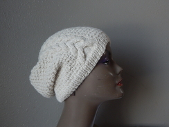 Photo of Warm Alpaca Slouch Hat