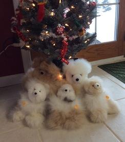 Photo of 10 Inch Alpaca Fleece Teddy Bear