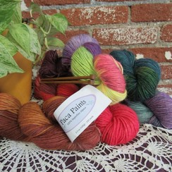 Photo of Paca Paints Alpaca Yarn - DK Weight