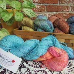 Mariquita Hand Dyed Yarn - Fingering