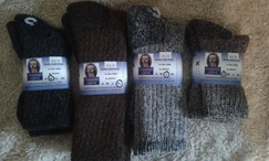 Photo of Survival socks - USA fiber USA made