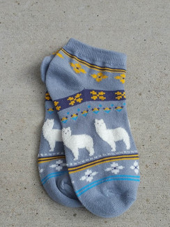 Photo of Fuzzy Fun Alpaca Cotton Socks