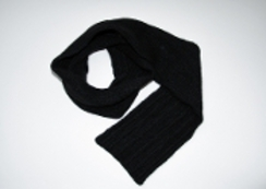Photo of Yak Black Scarf