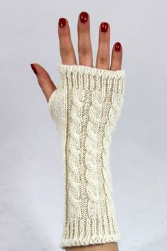 Photo of Alpaca Wrist Warmers - OUT OF STOCK