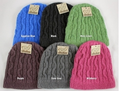Photo of Cable Knit Alpaca Beanie