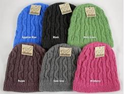 Cable Knit Alpaca Beanie
