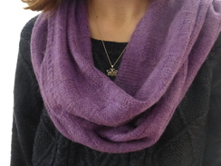 Photo of Basketweave Infinity Scarf