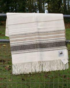 Photo of Alpaca Blanket USA made with USA fiber