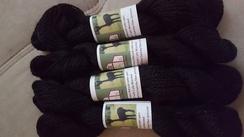 Photo of Bay Black Super Soft Alpaca Yarn 100 yd