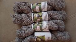 Photo of Light Silver Grey Super Soft Alpaca Yarn