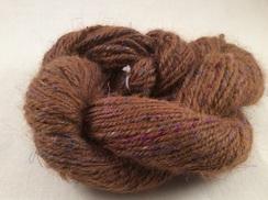 Alpaca Yarn Tencel Silk 91 Handspun Suri