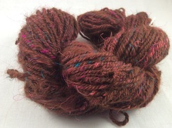 Alpaca Philomena Yarn with Silk Threads
