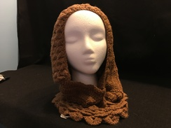 Photo of Crocodile Hooded Cowl